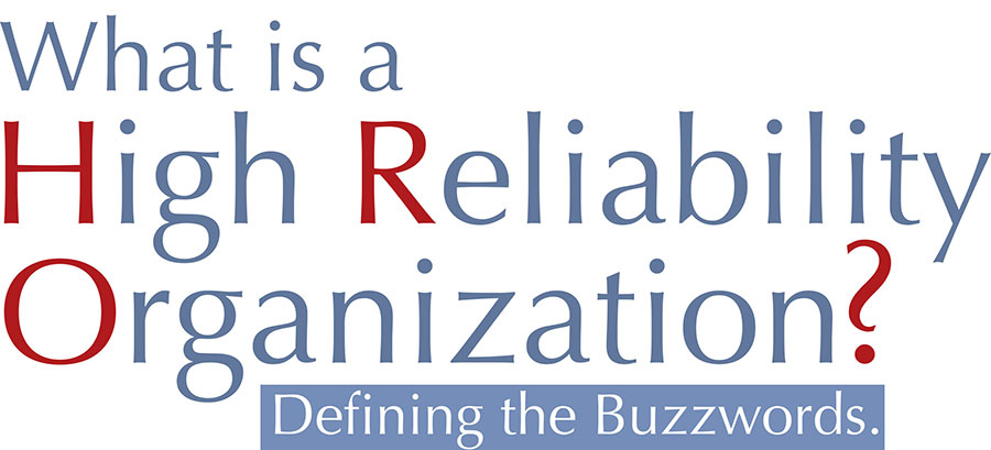 What is a High Reliability Organization text image