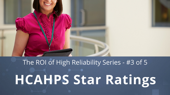 the roi of high reliability | increase hcahps star ratings