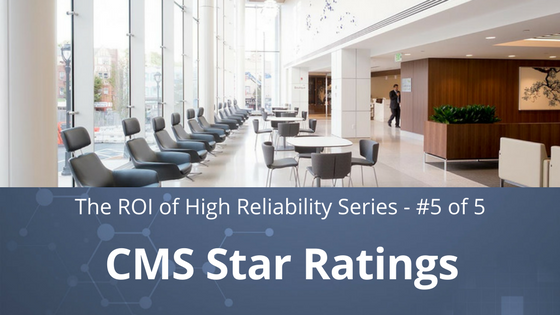 the roi of high reliability | increase cms star ratings