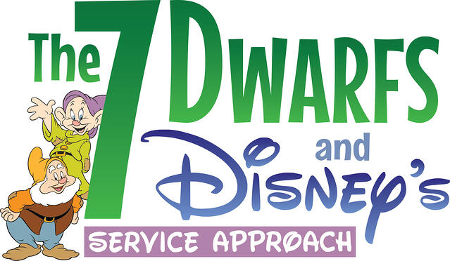 the 7 dwarfs and disney's service approach