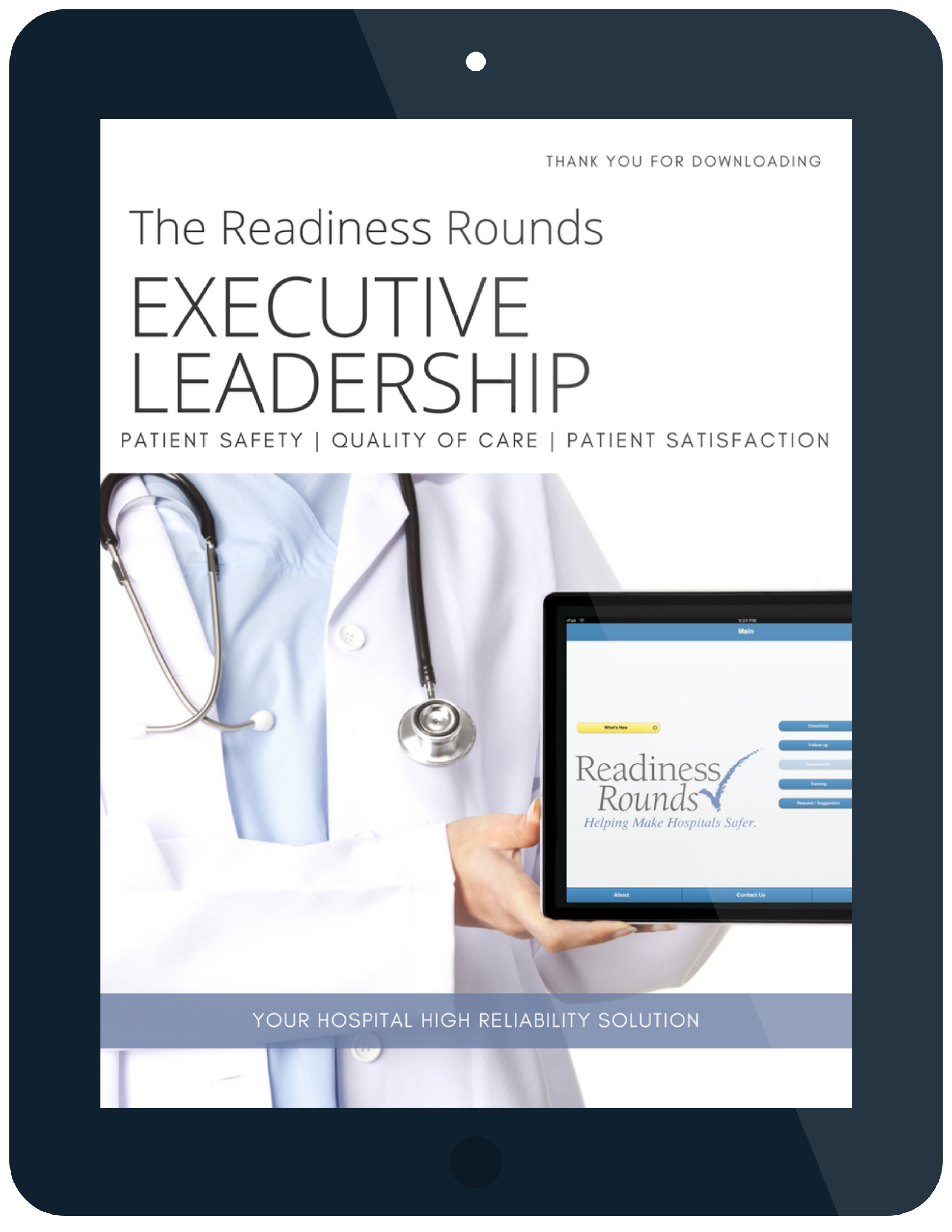 Executive Rounding Sample Checklist Questions Readiness Rounds