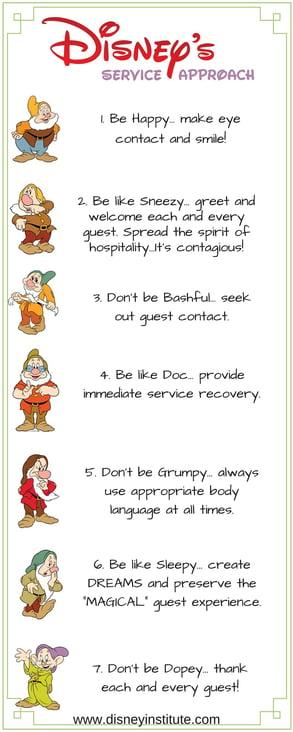 disney's service approach