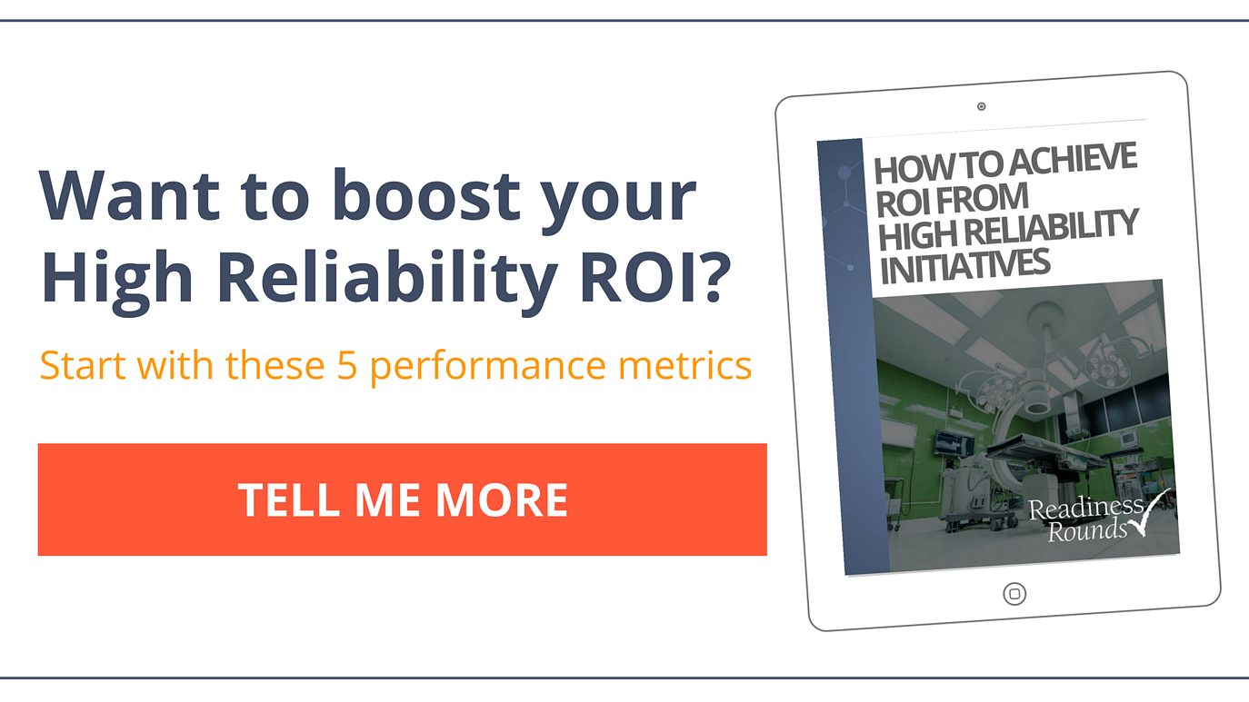 ROI of high reliability ebook