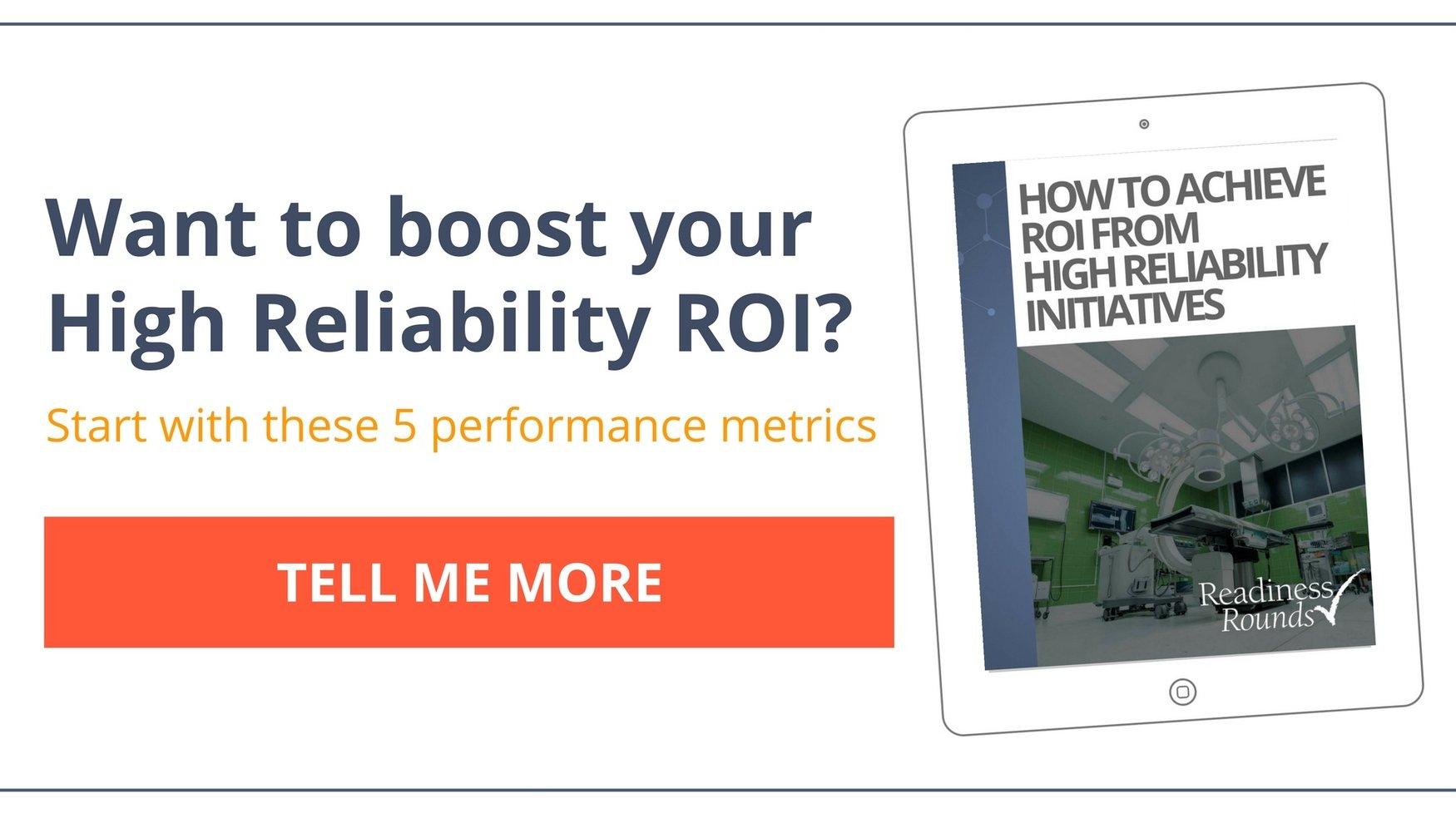 roi of high reliability ebook