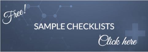 Sample Checklists link