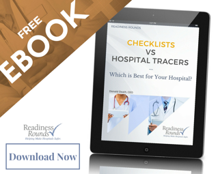 checklist vs tracers ebook - electronic rounding