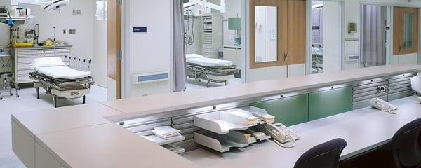 clean nurses station patient satisfaction