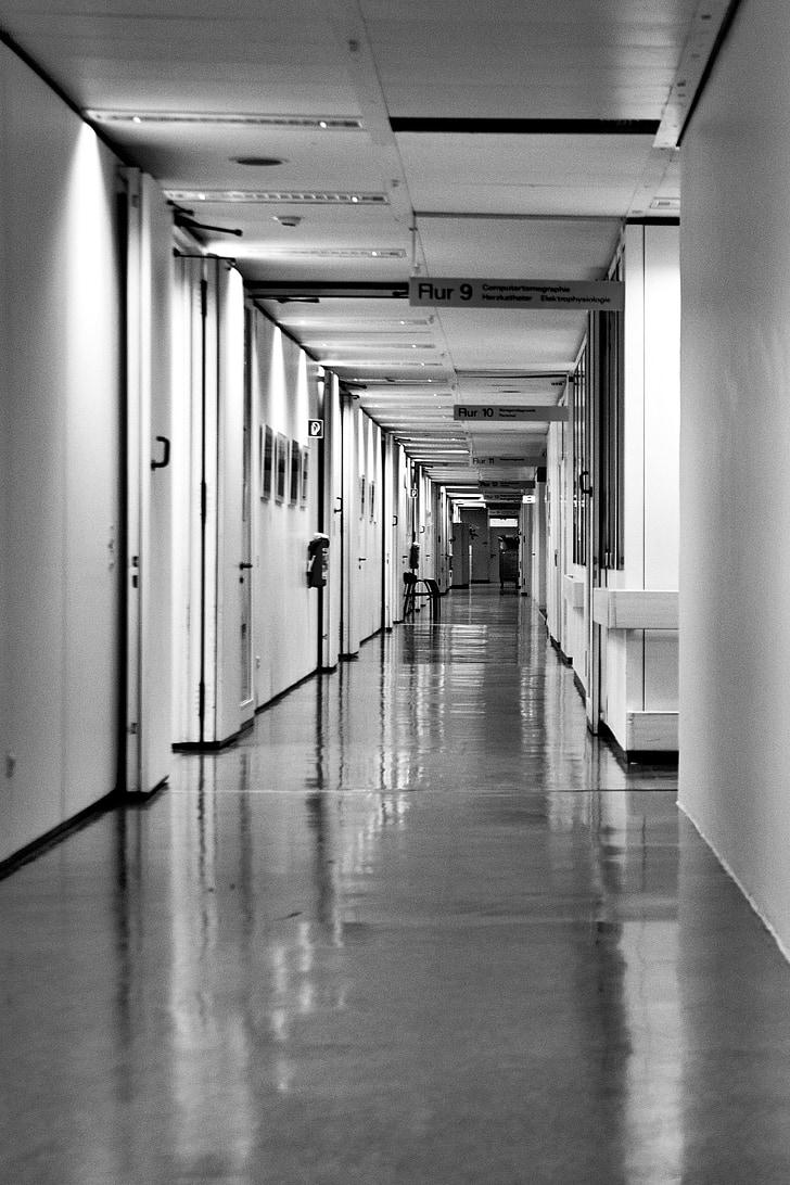 hospital-hospital-corridor-long-corridor-black-and-white-preview