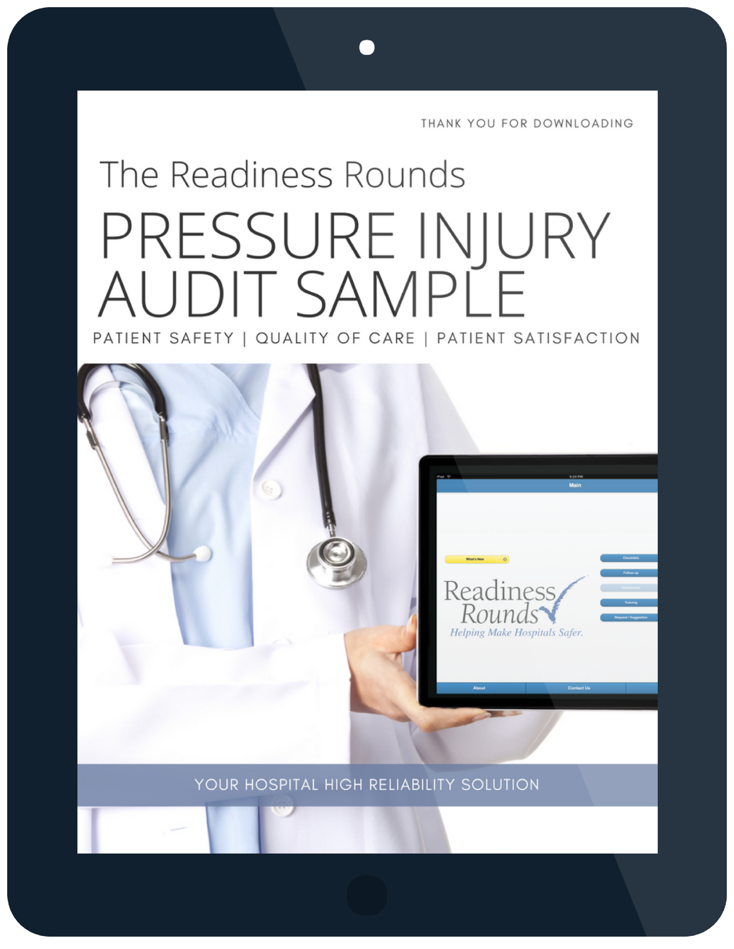 readiness rounds pressure injury audit