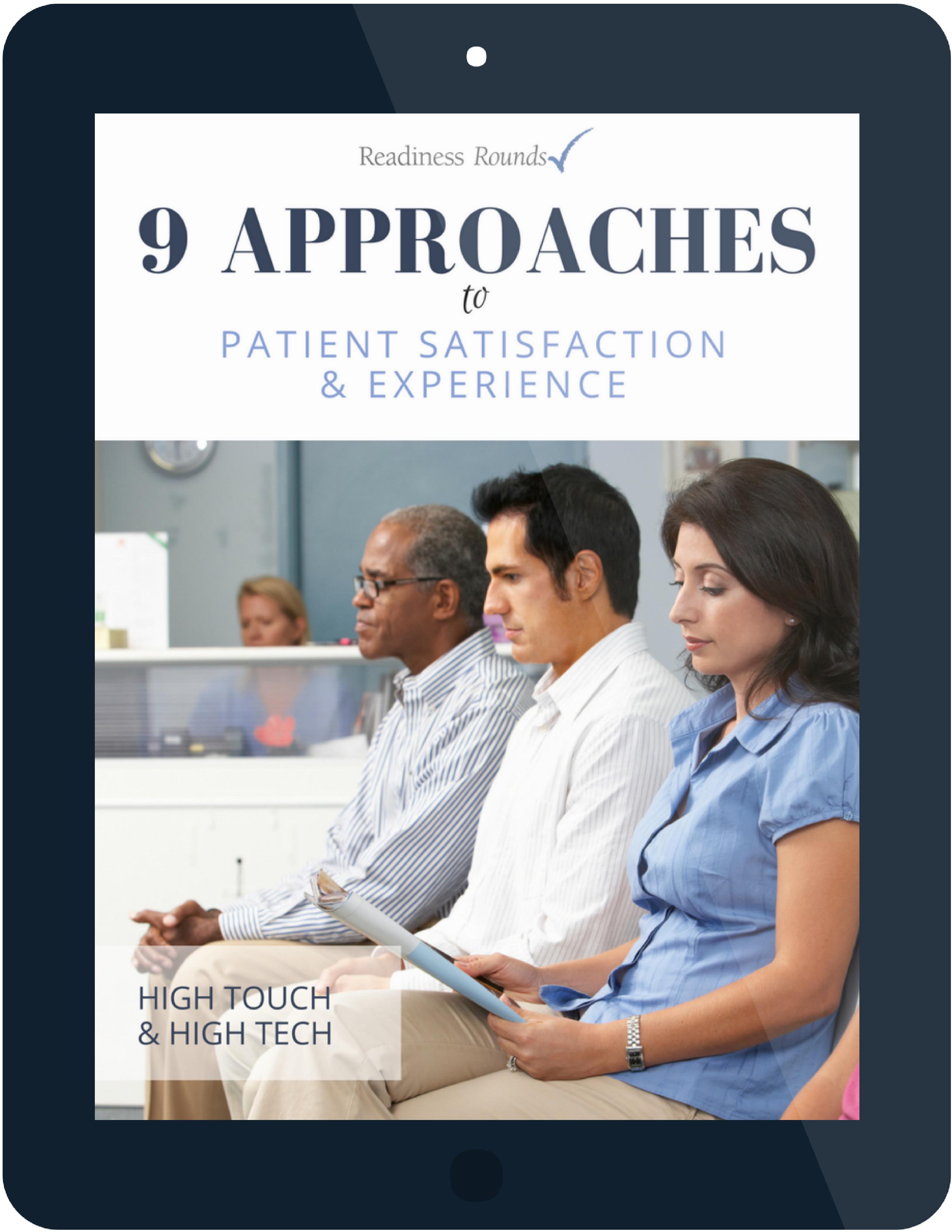 patient satisfaction ebook