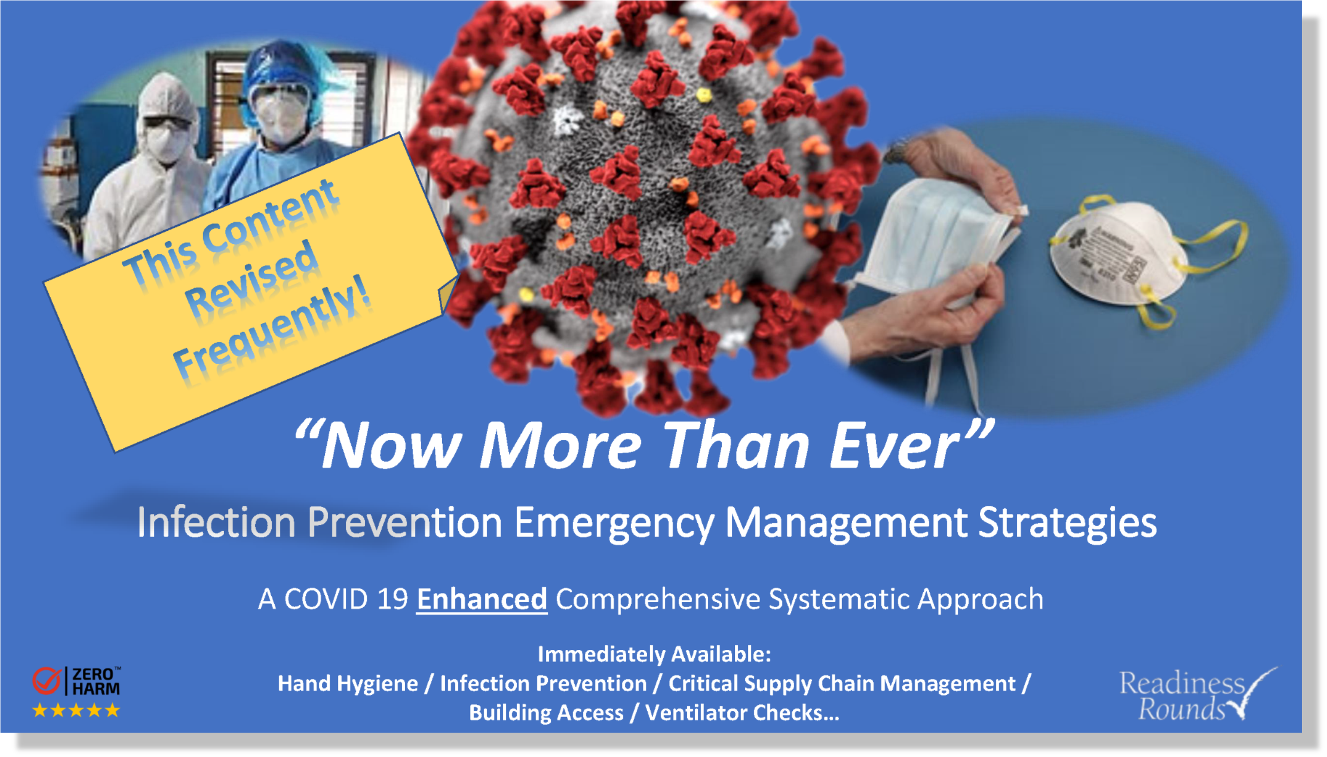 Infection Prevention Emergency Management Strategies - New Cover - 04212020