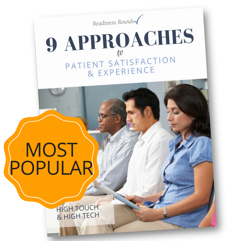 9 Approaches Patient Satisfaction eBook